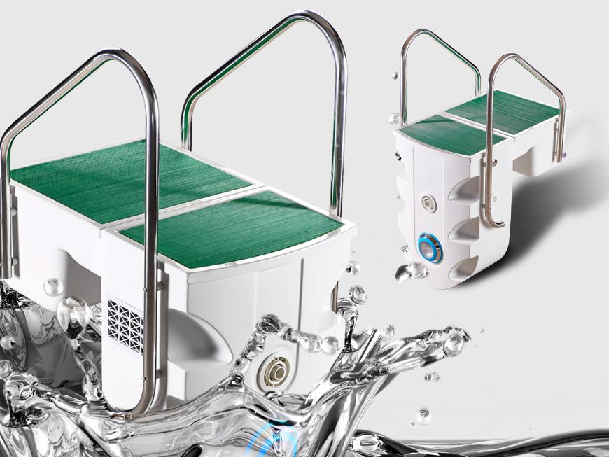 Haute qualit pk8028 filtre de montage mural int gr pour for Grossiste materiel piscine